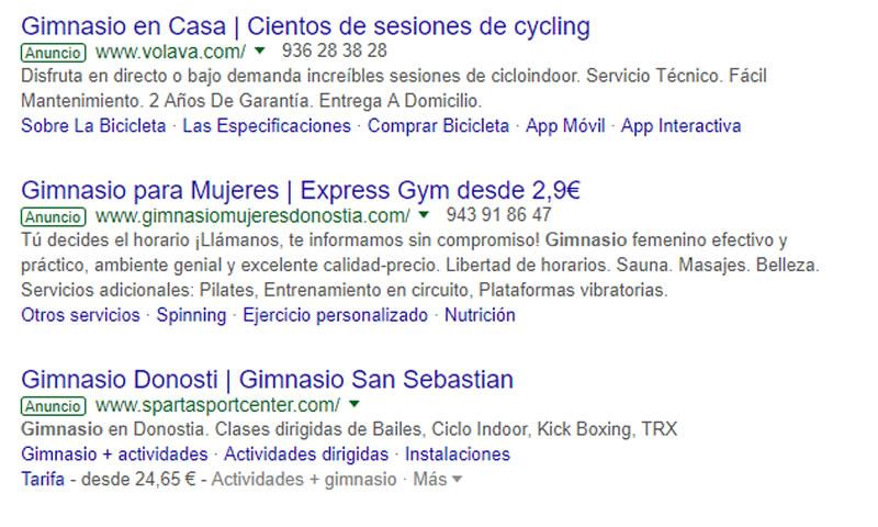 campaña de Google Ads