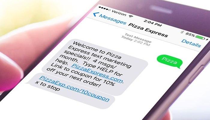 CTA para tu estrategia de SMS marketing. Bienvenida