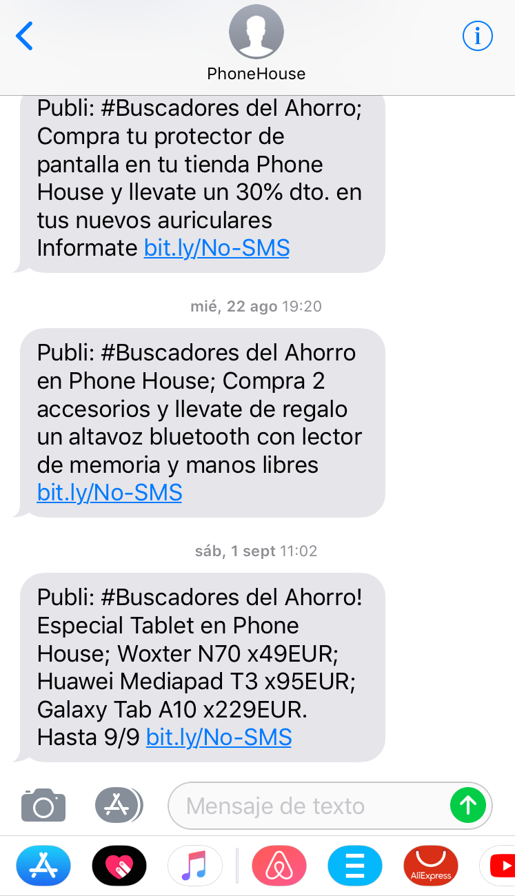 CTA para tu estrategia de SMS marketing. Ofertas