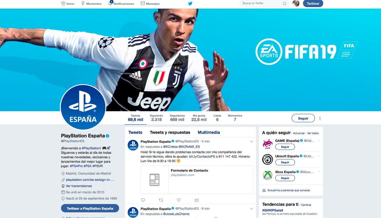 play marcas con más seguidores en redes sociales
