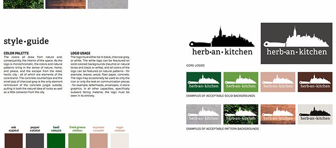 branding, marca e identidad visual. Herban