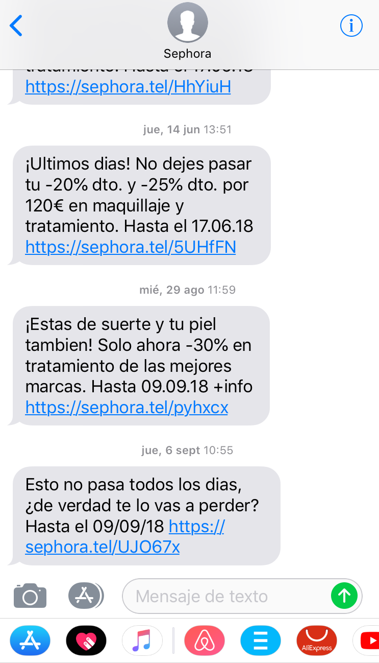 CTA para tu estrategia de SMS marketing. Misterio