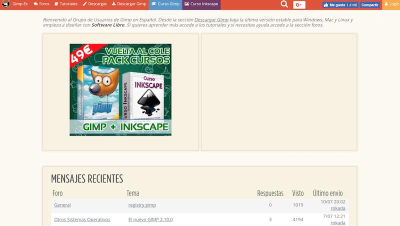 Herramientas para hacer los mejores banners de rich media. GIMP