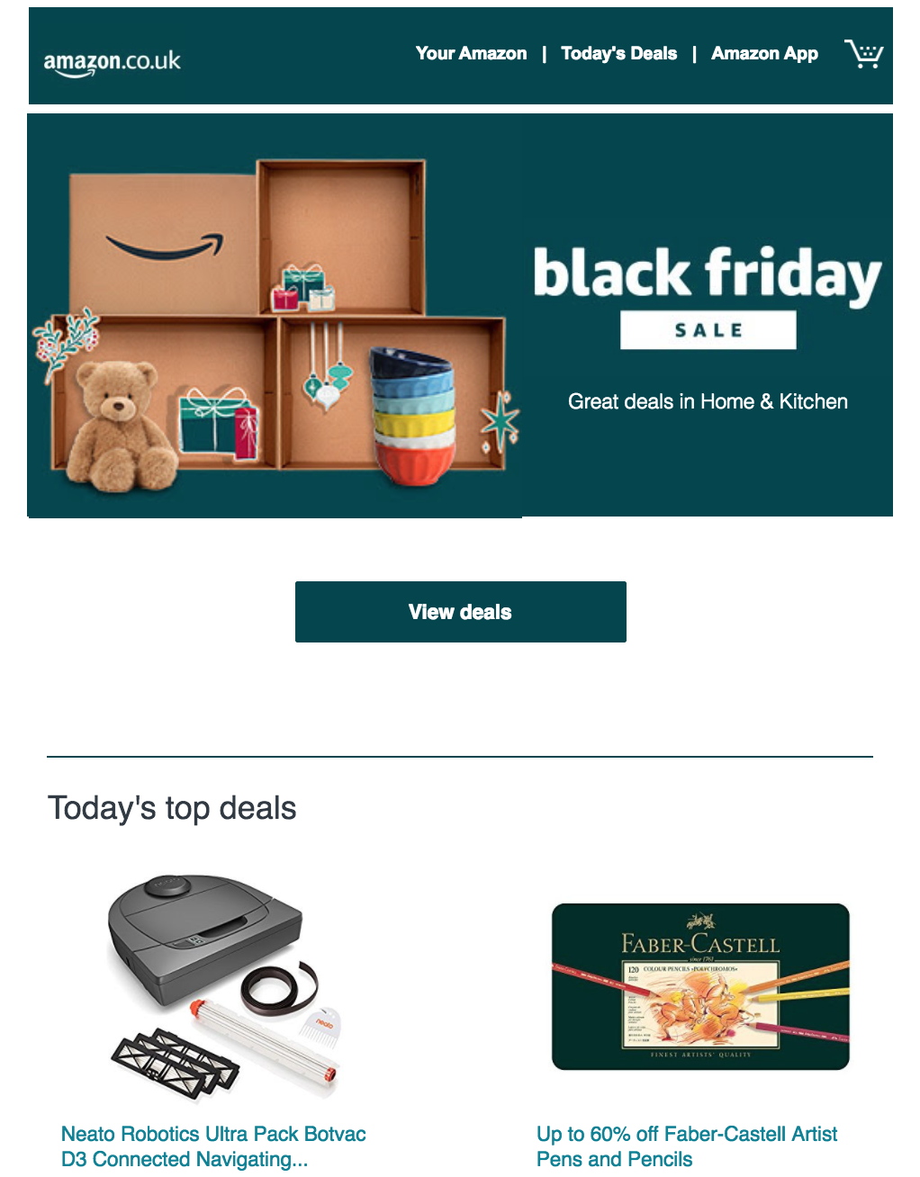 campañas del Black Friday Amazon