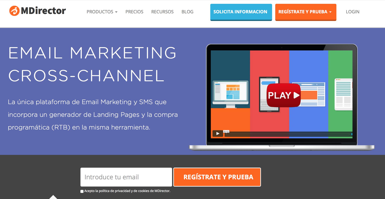 Plataformas de Content Marketing MDirector