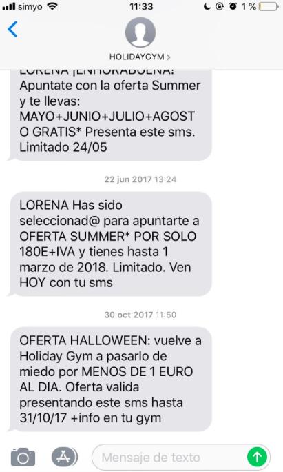 base de datos vender más en Navidad con SMS Marketing