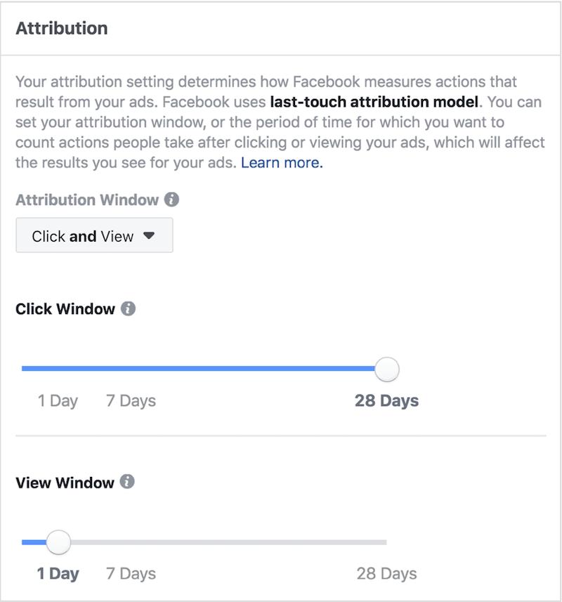 Empieza a utilizar Facebook Attribution
