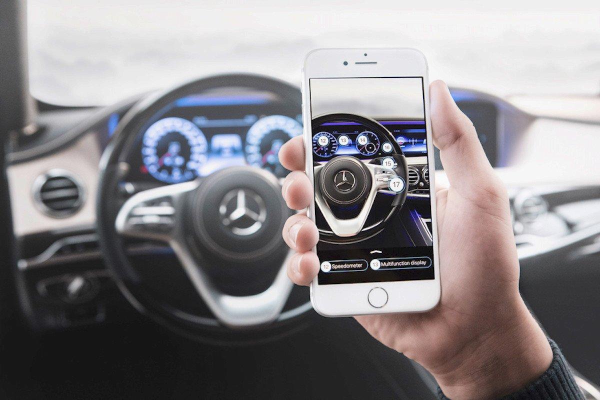 publicidad de vídeo del sector automovilístico realidad virtual