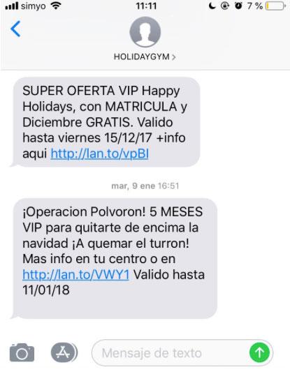 Errores a evitar con SMS marketing. Crear mensajes genéricos