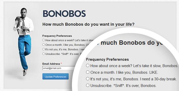 preferencias bases de datos de email
