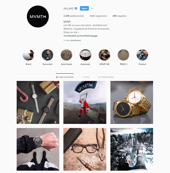 micro-marcas en Instagram