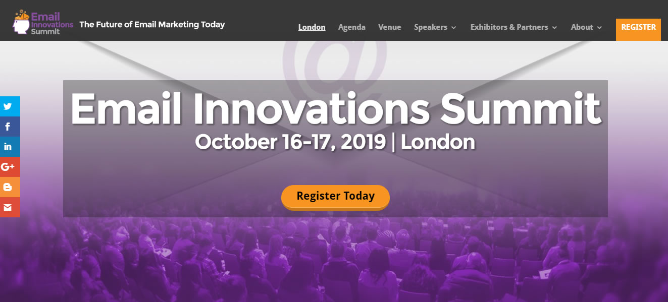 eventos de Marketing Digital en Europa de 2019 - Email Innovations Summit