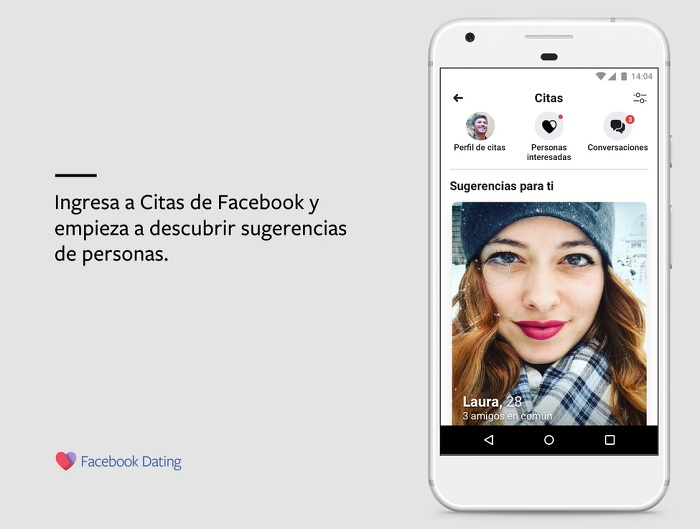 Facebook Dating apariencia