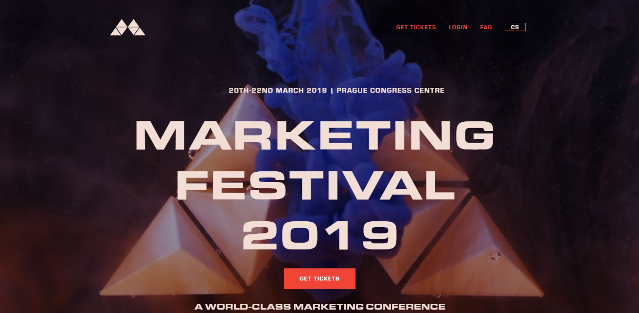 eventos de Marketing Digital en Europa de 2019 - Marketing Festival 2019
