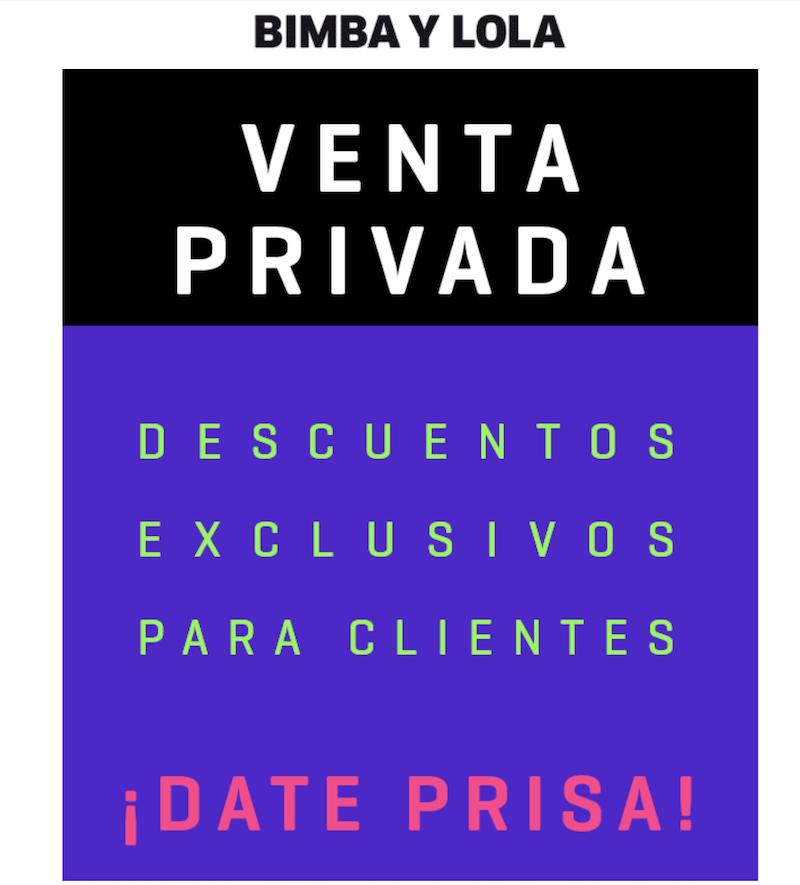venta-privada ejemplo