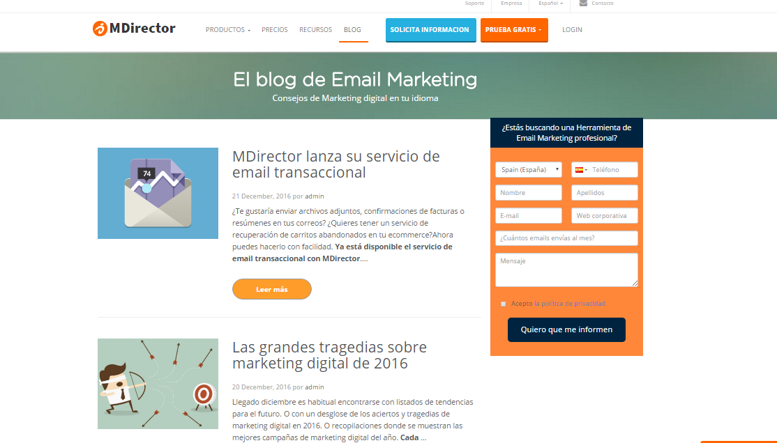 e-commerce B2B blog