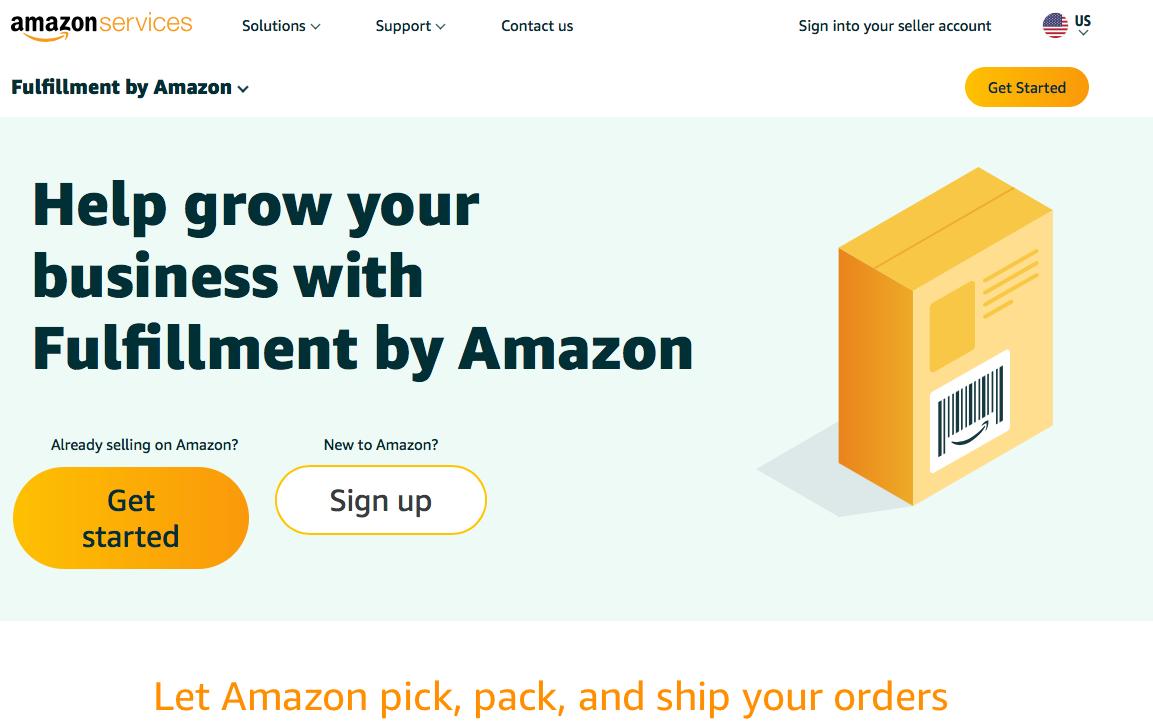 Cómo vender en Amazon envio