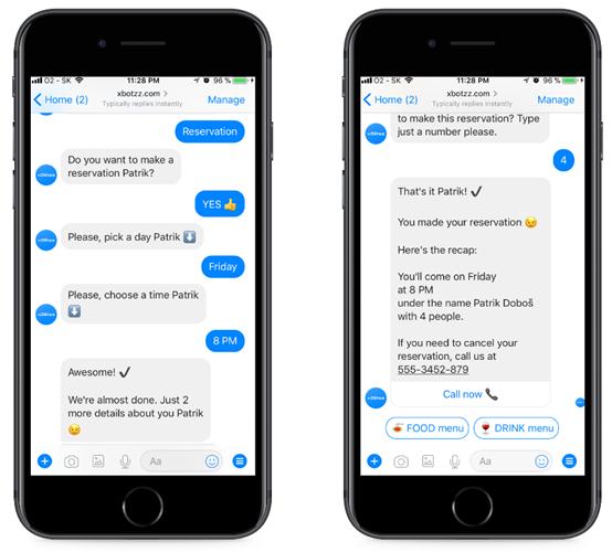 Captar clientes con Chatbot reservas