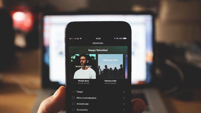 hacer publicidad en Spotify