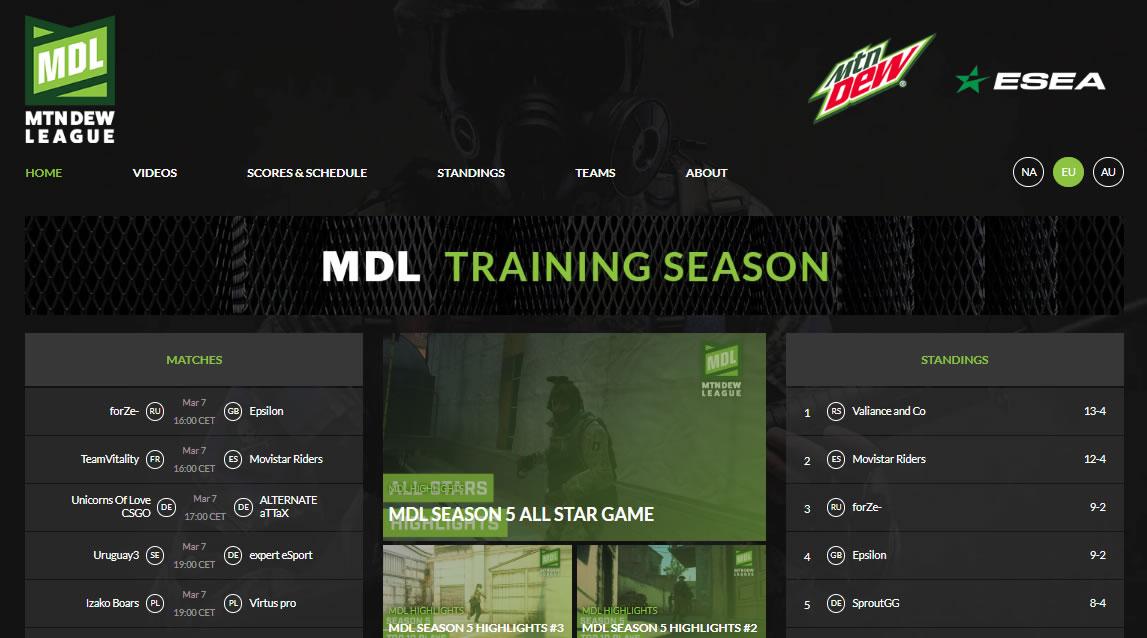 patrocinar esports: Mountain Dew