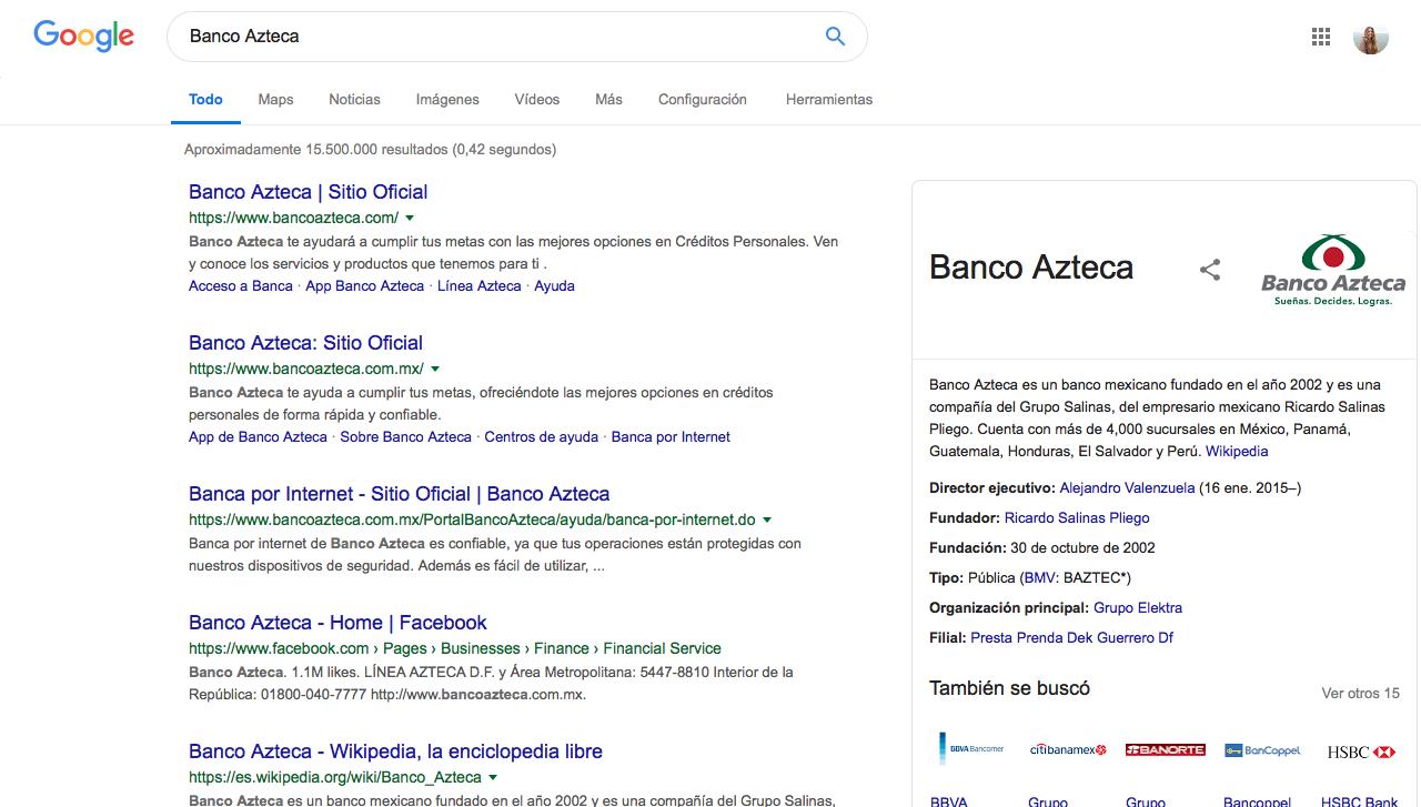 performance marketing bancario en México seo