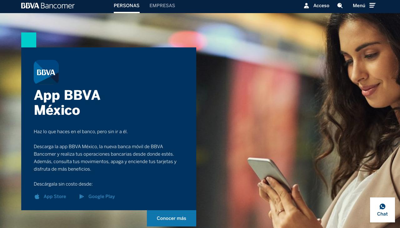 performance marketing bancario en México app