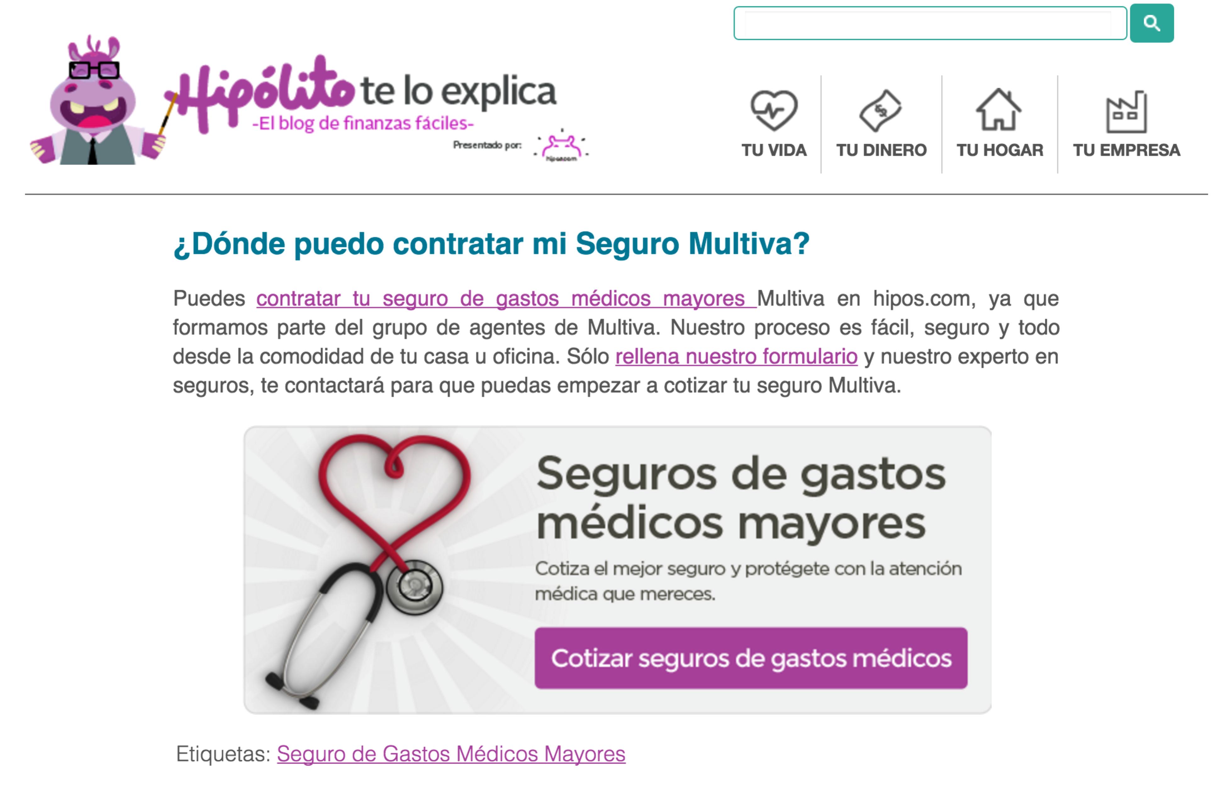 performance marketing bancario en México inbound