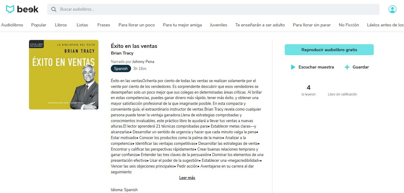 Los mejores audiolibros sobre marketing en español: Éxito en las ventas