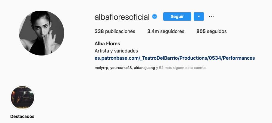 Alba Flores