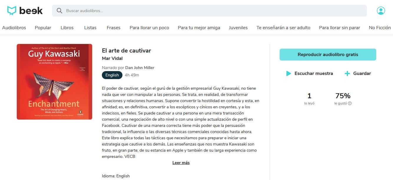 Los mejores audiolibros sobre marketing en español: El arte de cautivar
