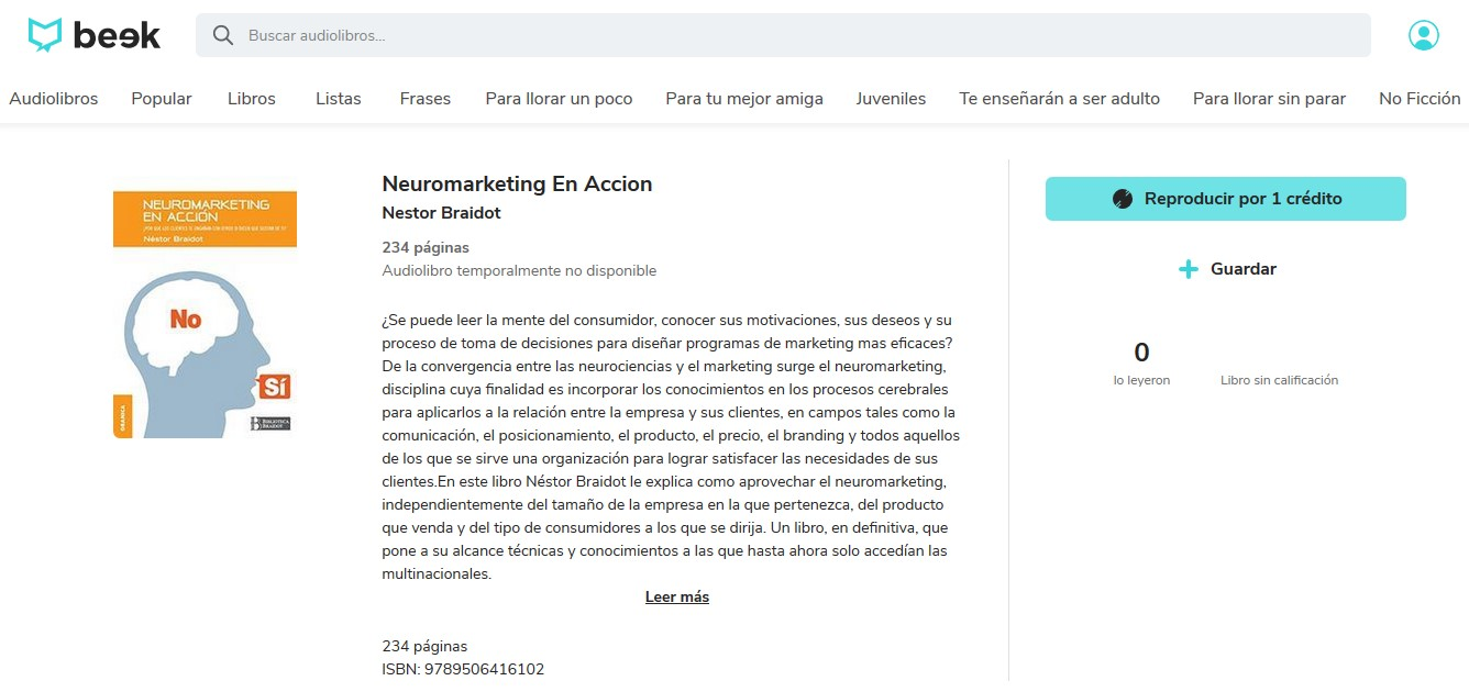 Los mejores audiolibros sobre marketing en español: Neuromarketing
