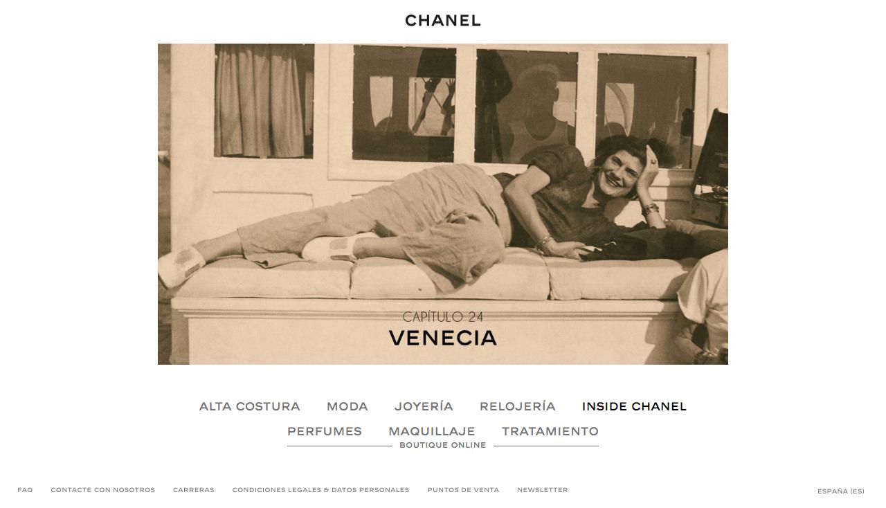Performance marketing para el sector de lujo Chanel