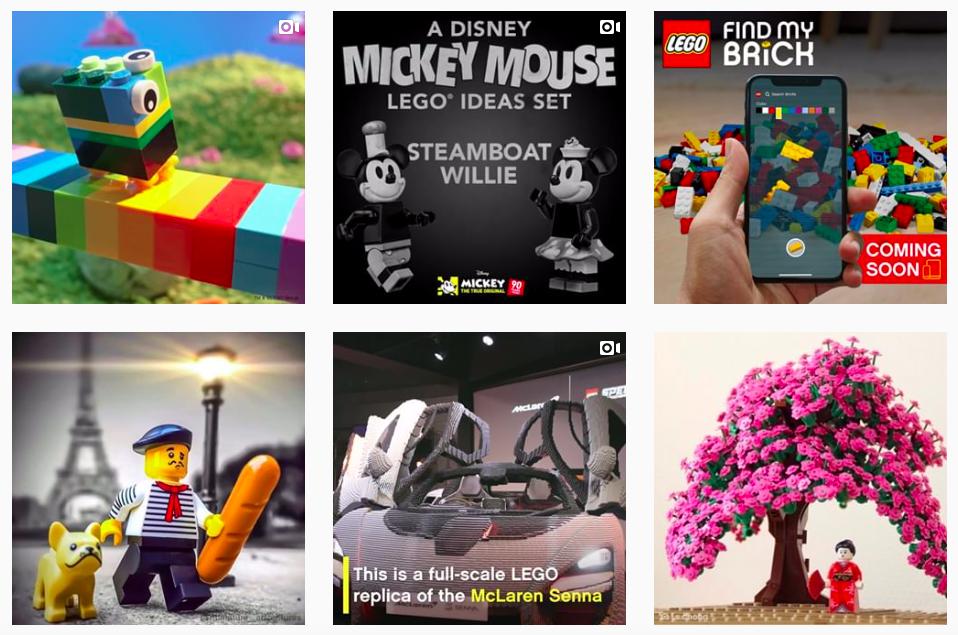 Comunidades de marca con más seguidores en la generación Alpha: Lego