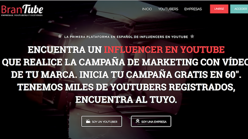 Plataformas de influencer marketing