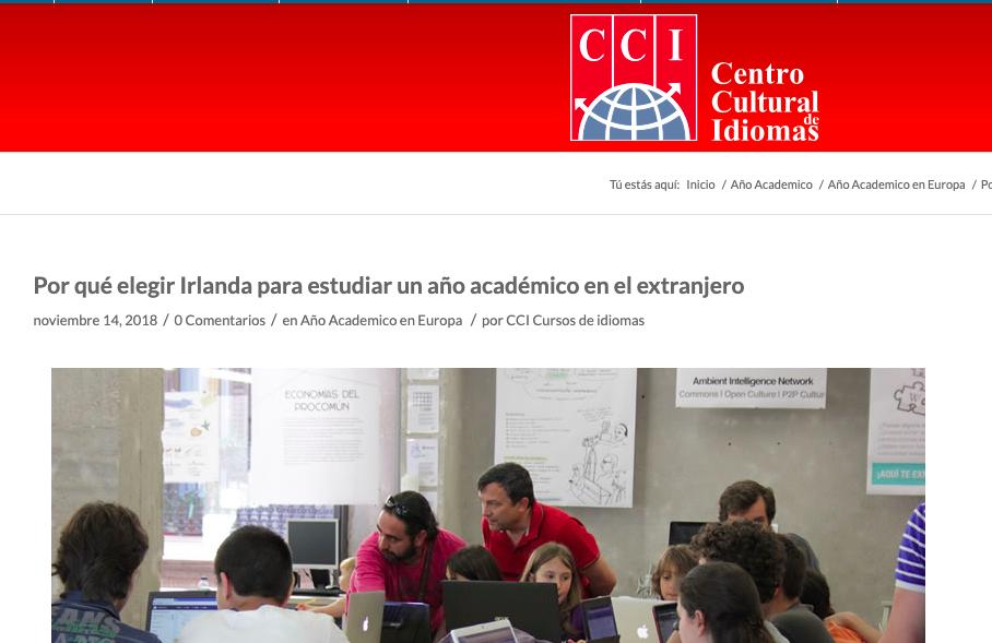 CCI contenido