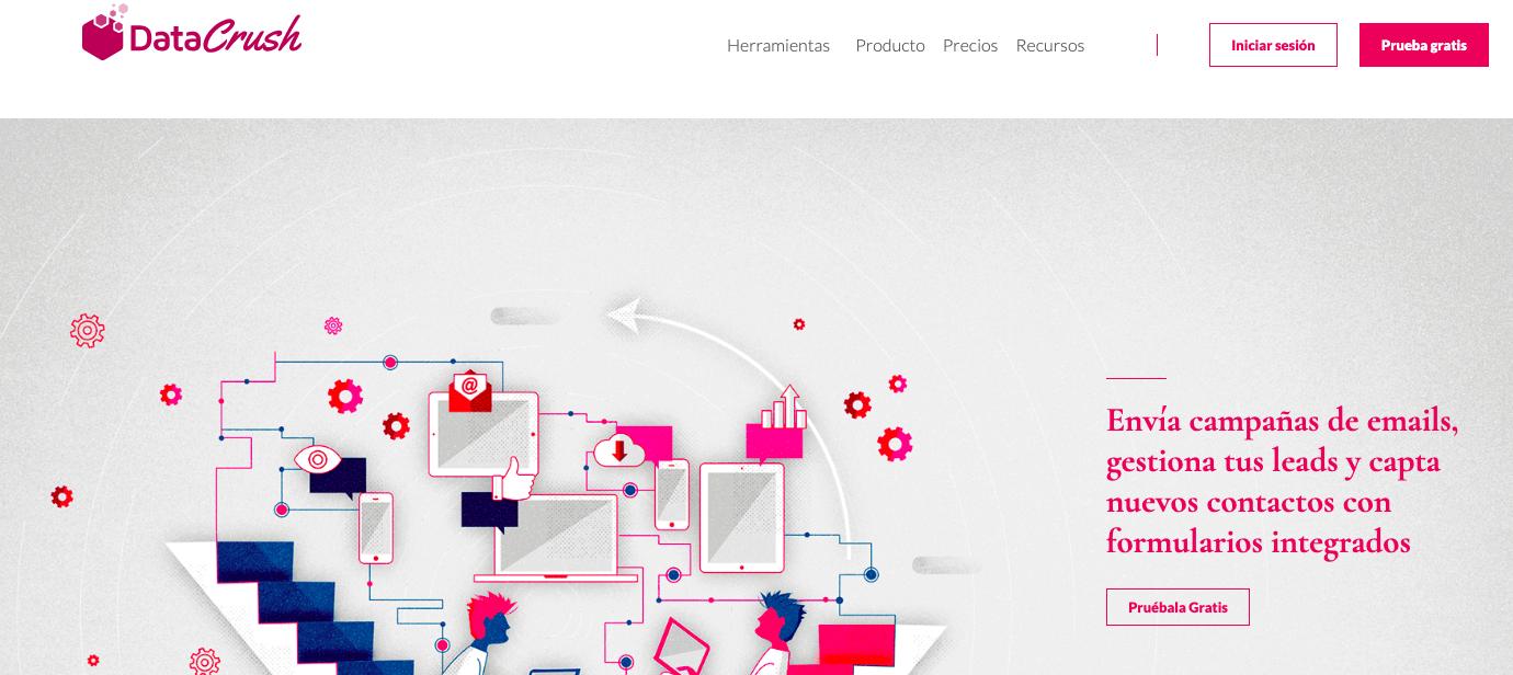 blogs de Email Marketing Automation en LATAM: Data Crush