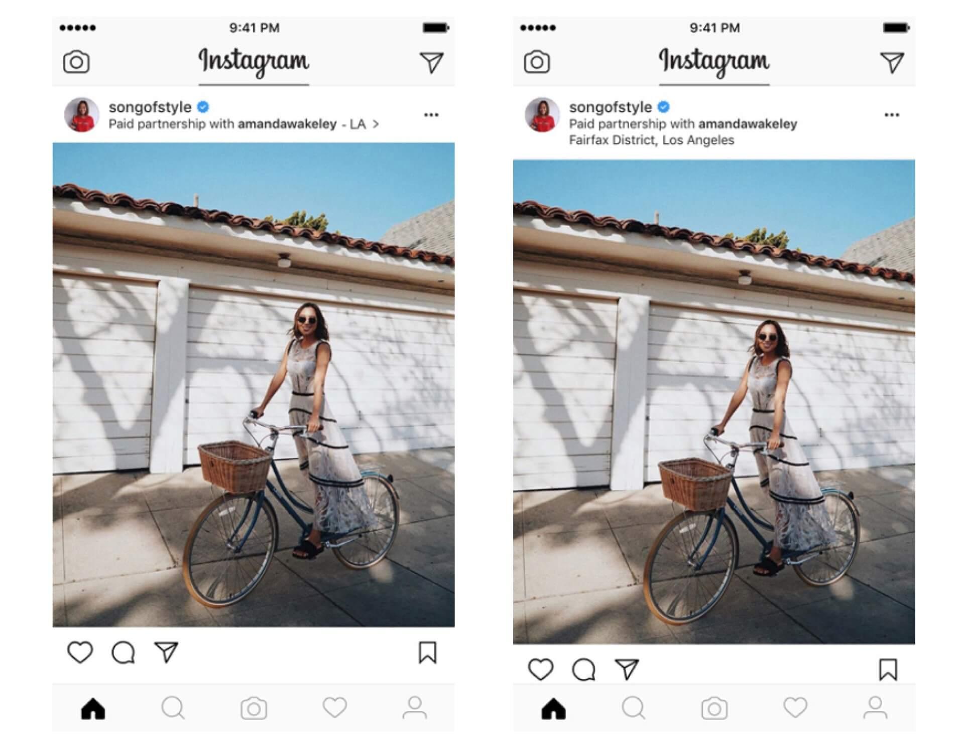 Instagram Branded Content Ads anuncio