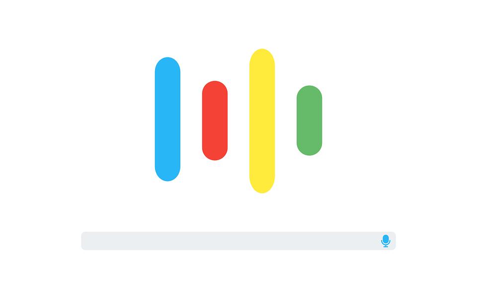 búsqueda por voz algoritmo de Google