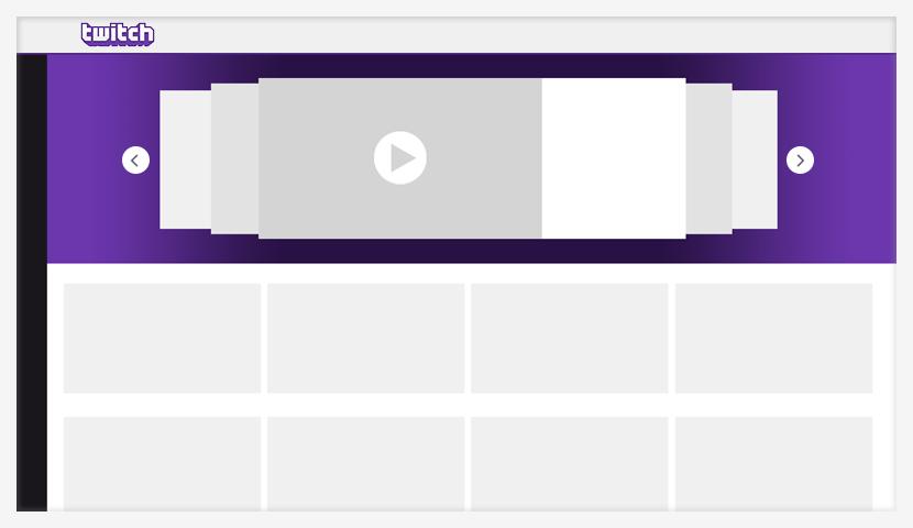 campaña de publicidad en Twitch inicio