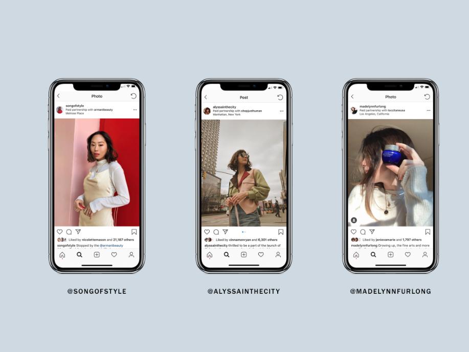 Instagram Branded Content Ads casos