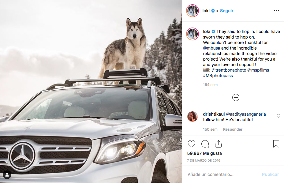 campañas de influencer marketing mercedes