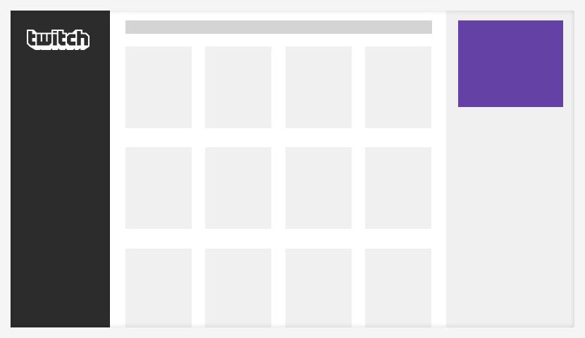 campaña de publicidad en Twitch rectángulo
