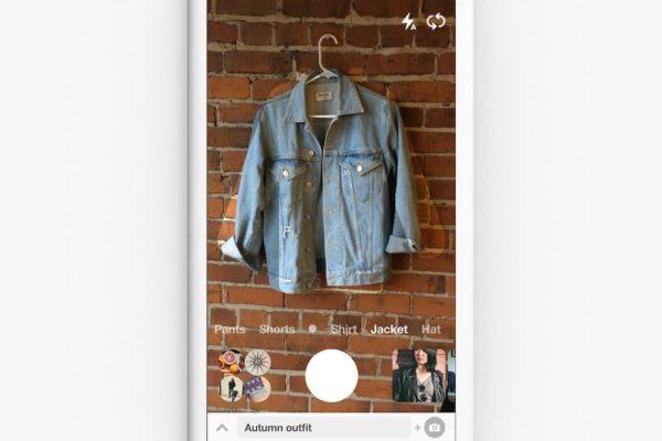 Visual Search Pinterest lens