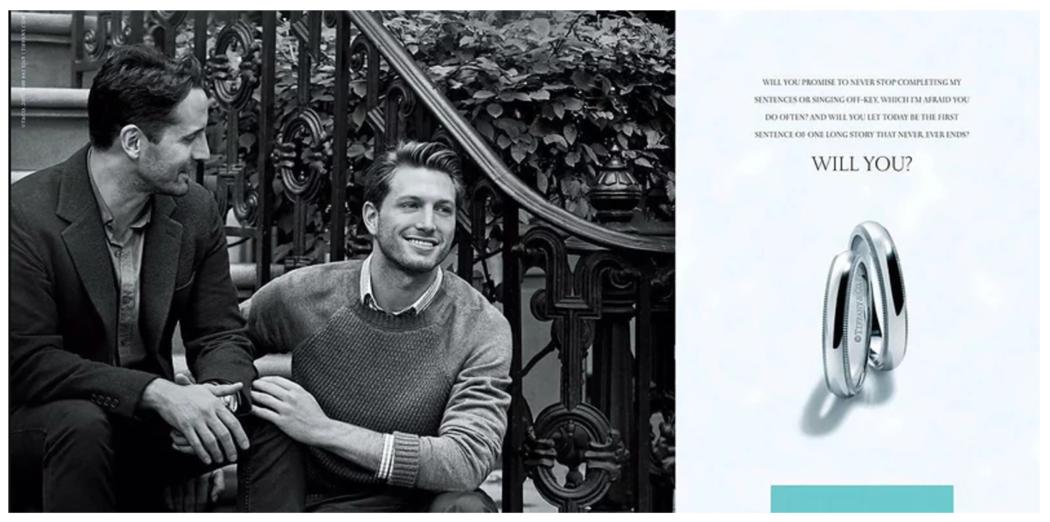 campañas de publicidad del Orgullo Gay Tiffany