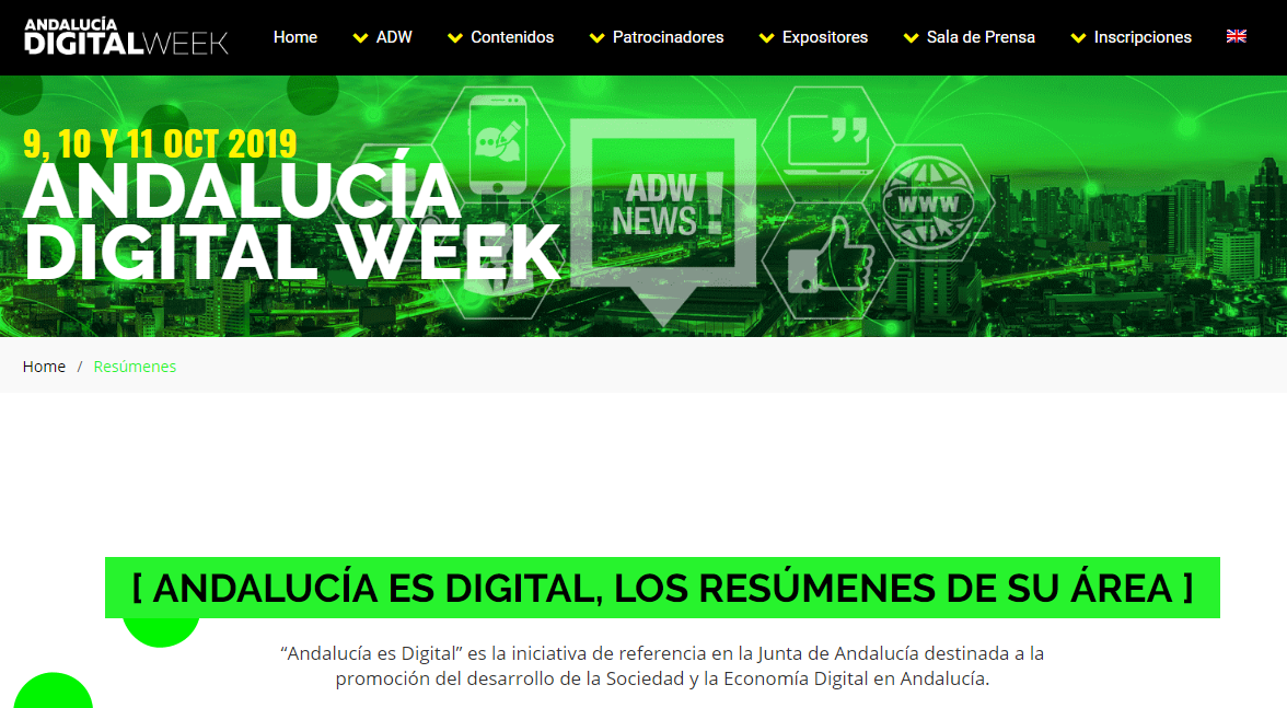congresos gratuitos de marketing: Andalucía digital Week