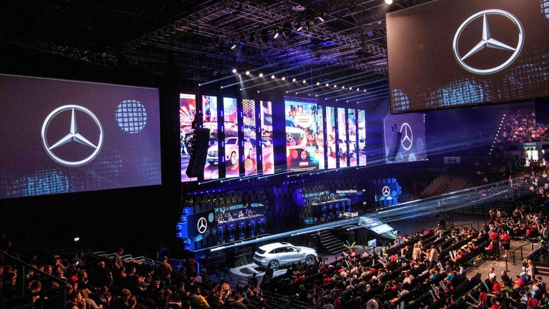 sponsors de esports a nivel mundial: Mercedes Benz