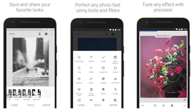 herramientas para Instagram stories: Snapseed