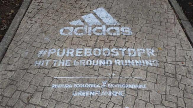 Street marketing de Adidas