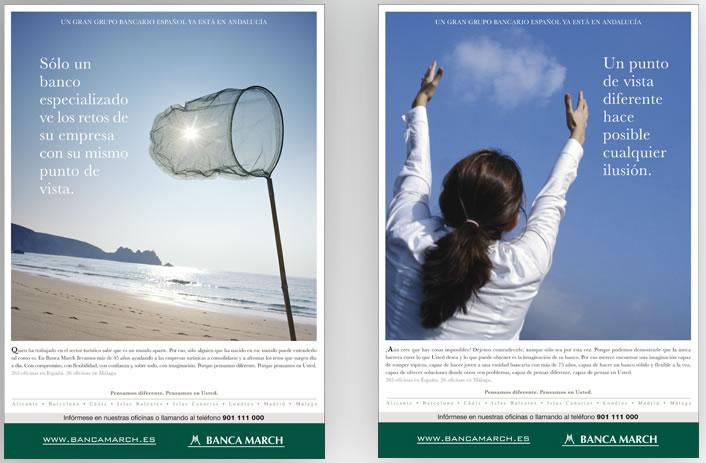 publicidad de bancos