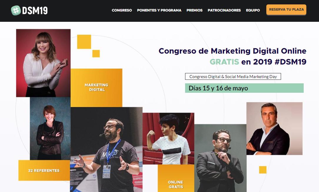 congresos gratuitos de marketing en Latinoamérica